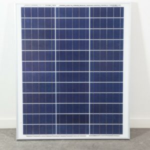 SOLPANEL 45W / 12V högeffektiv, högkvalitets PV-modul