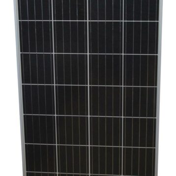 Monokristallin Solpanel 125 W med fästen