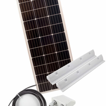 SOLPANEL KIT 120W MONO PANEL 145X54X3cm