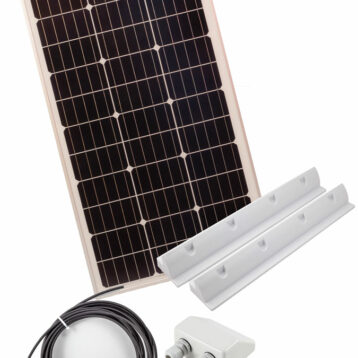 SOLPANEL KIT 80 W MONO 101X54X3cm