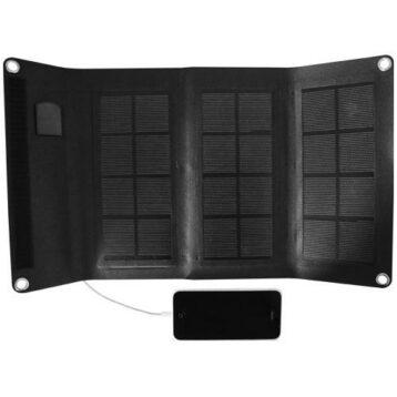 Solcellsladdare 6W för mobil
