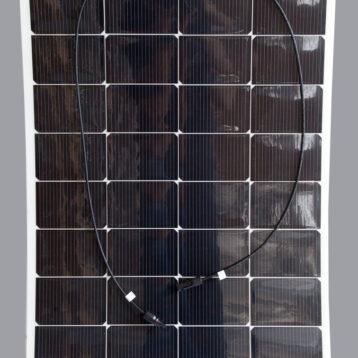SOLPANEL TPT 160W Semiflex Böjbar ca 20°