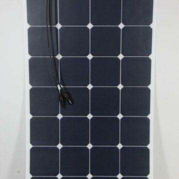 SOLPANEL Sunpower 130 W Böjbar 540 x 1270 x 3 mm