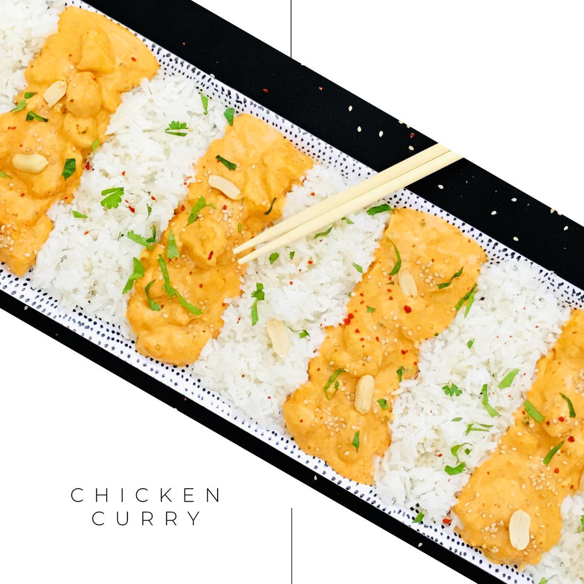 Chicken-Curry mit Kokosmilch