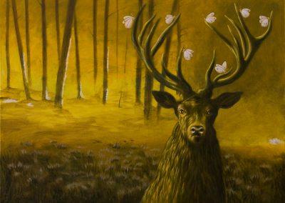 Der Scout führt weiter • 2013, Acryl auf Leinwand, 60 x 80 cm