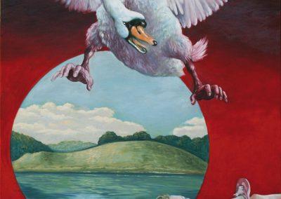 Es gibt ein Lied • 2007, Öl auf Leinwand, 140 x 100 cm