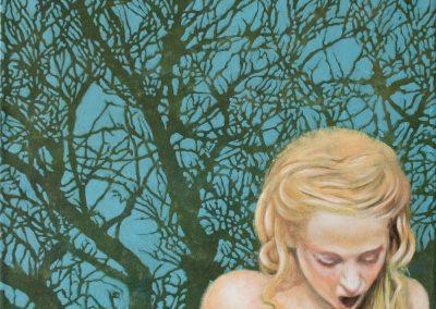 Gelb gilt als sicher • 2005, Acryl auf Leinwand, 50 x 60 cm