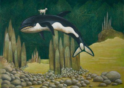 Heute ist der Tag • 2011, Acryl auf Leinwand, 80 x 100 cm