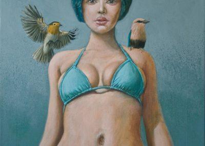 Jeder hat seinen Augenblick • 2012, Acryl auf Leinwand, 60 x 50 cm
