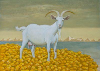 Kein Mensch ist perfekt • 2011, Acryl auf Leinwand, 80 x 100 cm