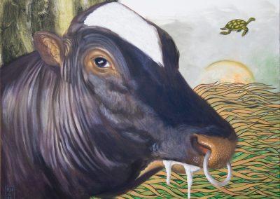 Ramos • 2019, Acryl auf Leinwand, 50 x 60 cm