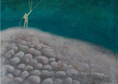 This is a what • 2013, Acryl auf Leinwand, 90 x 50 cm