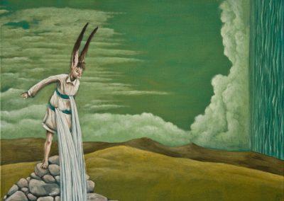 Vor 15 Jahren • 2010, Acryl auf Leinwand, 60 x 80 cm