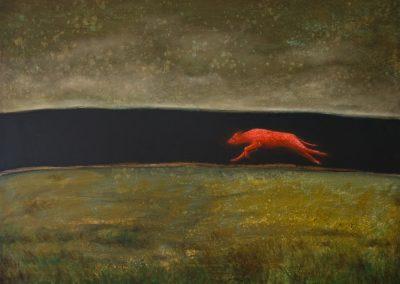 Wacht alle auf • 2009, Öl auf Leinwand, 80 x 100 cm