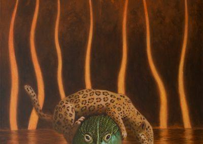 Wenn es geht! • 2012, Acryl auf Leinwand, 120 x 100 cm