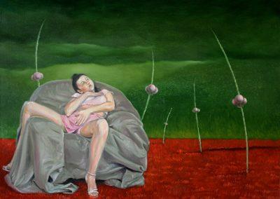 Der geglückte Tag • 2008, Öl auf Leinwand, 60 x 80 cm