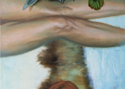Die Wahrsagerin • 2005, Acryl auf Leinwand, 120 x 80 cm