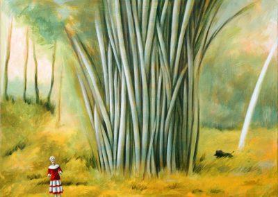 Ein neuer Tag • 2004, Acryl auf Leinwand, 80 x 100 cm