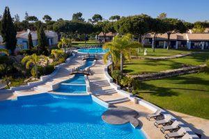 Vila Sol pool, Vilamoura, Algarve, Portugal