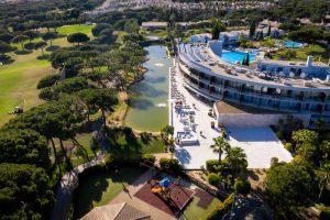 Vy från luften på Drone Vila De Sol