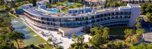 Bild på hotell Vila Sol från luften