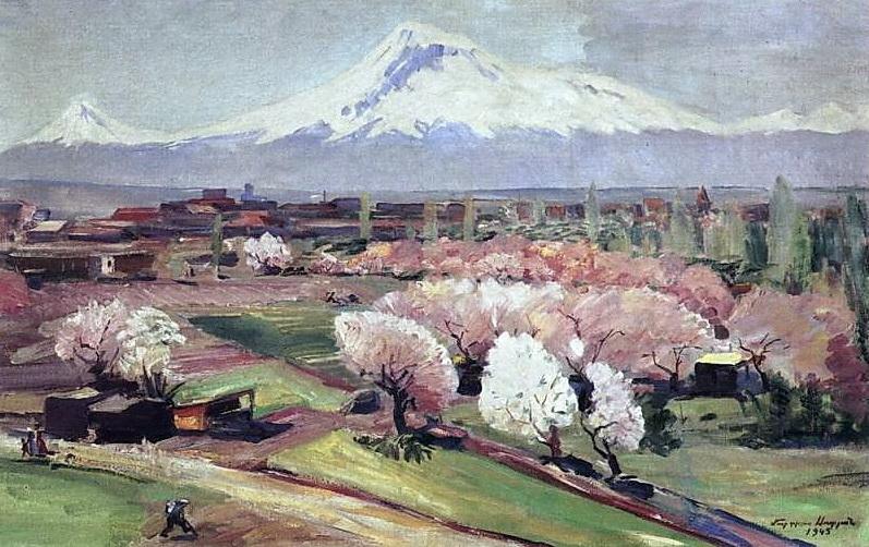 """""""Ararat en Primavera"""" Martyros Sarian   1945"""