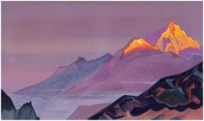 """Path to Shambala"" Nicholas Roerich"