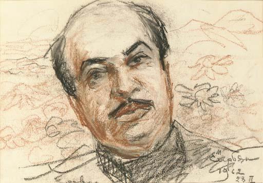 portrait-of-boris-parsadanyan-1962