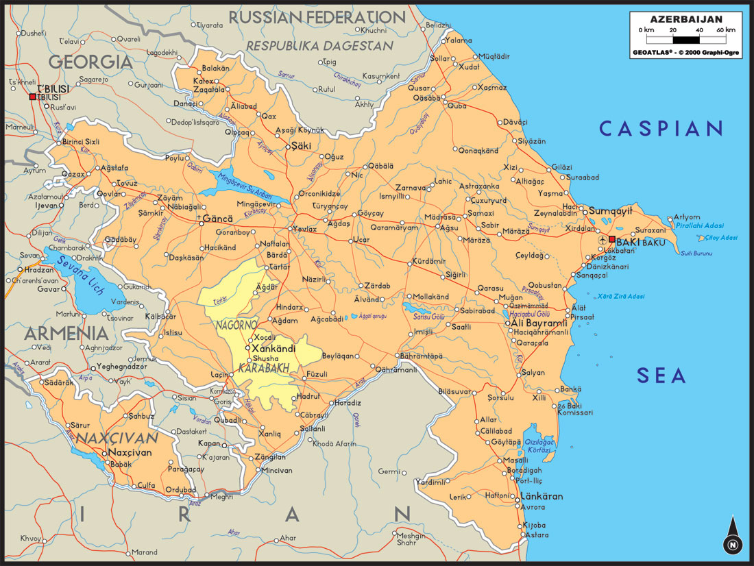 azerbaijan_political_large_map