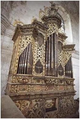 Órgano del Siglo XVII Santo Domingo, Oaxaca