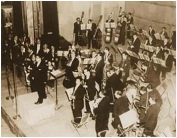José Pablo Monayo director de la Orquesta Sinfónica Nacional Conaculta, México