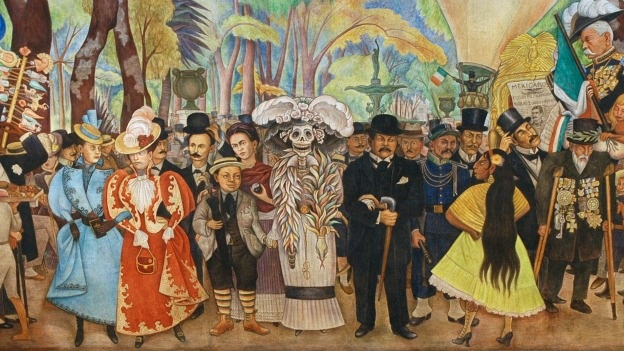 Diego Rivera. Mural