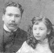 Rolón y su hija