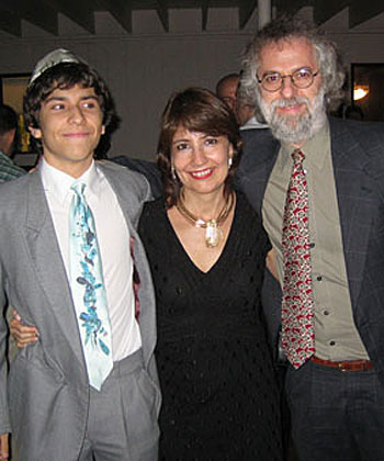 ERik Zyman, Nancy Carrasco y Salomón Zyman