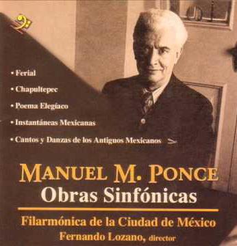 Ponce obras sinfónicas