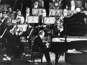 Claudio Arrau con la Orquesta Sinfónica de Chile