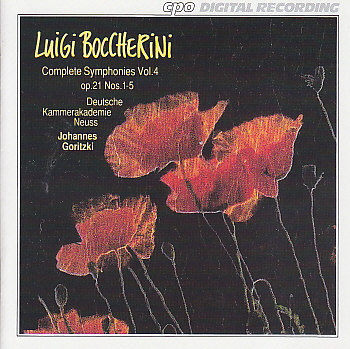 Boccherini CD 4
