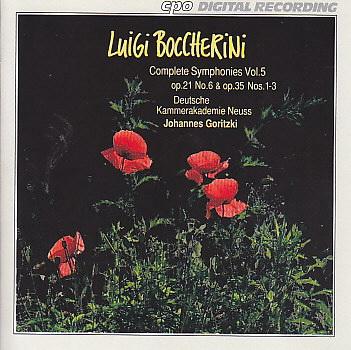 Boccherini CD 5