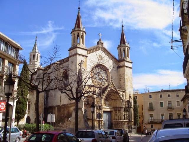 Iglesia de Santa María de Vilafranca del Penedès
