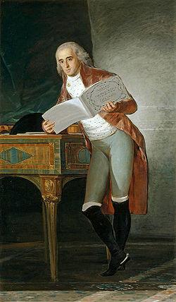 El Duque de Alba pintado por Goya
