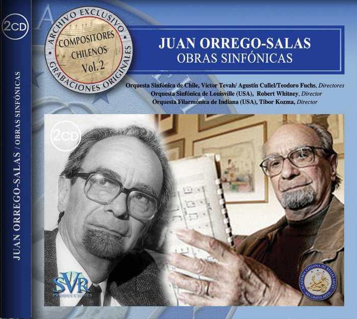 Orrego-Salas CD
