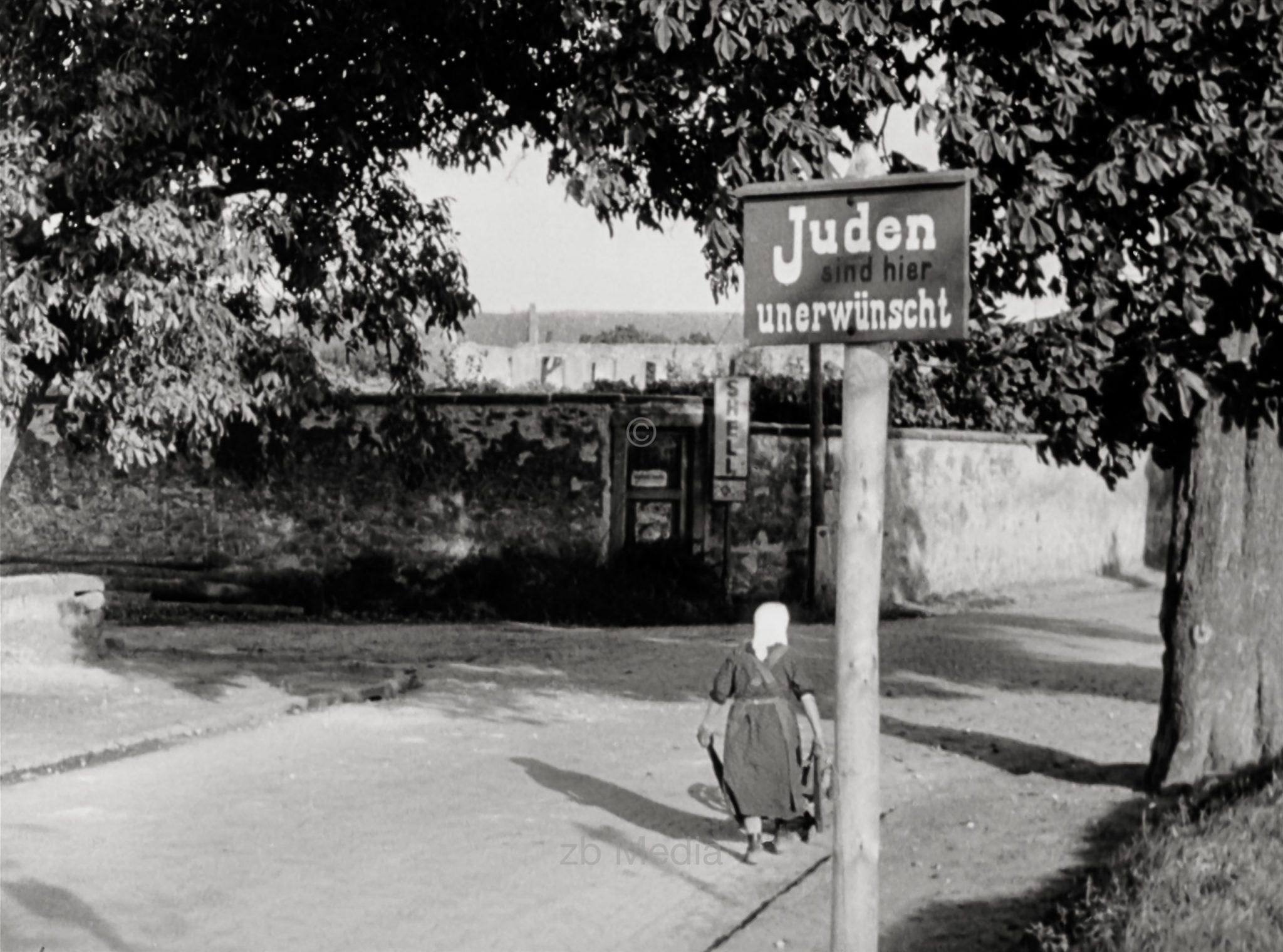 Juden unerwünscht