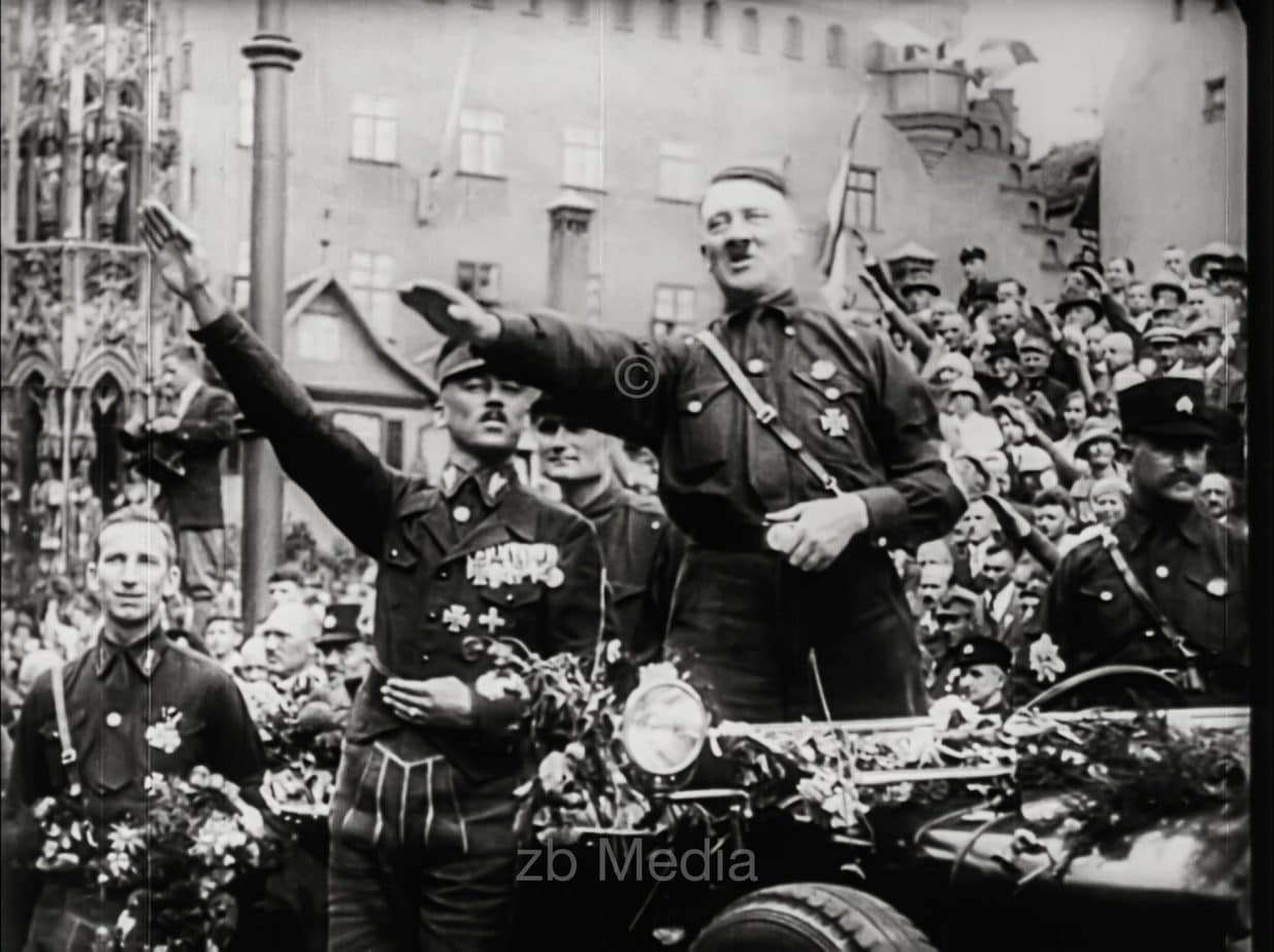 NSDAP Parteitag Nürnberg 1927, Hitler