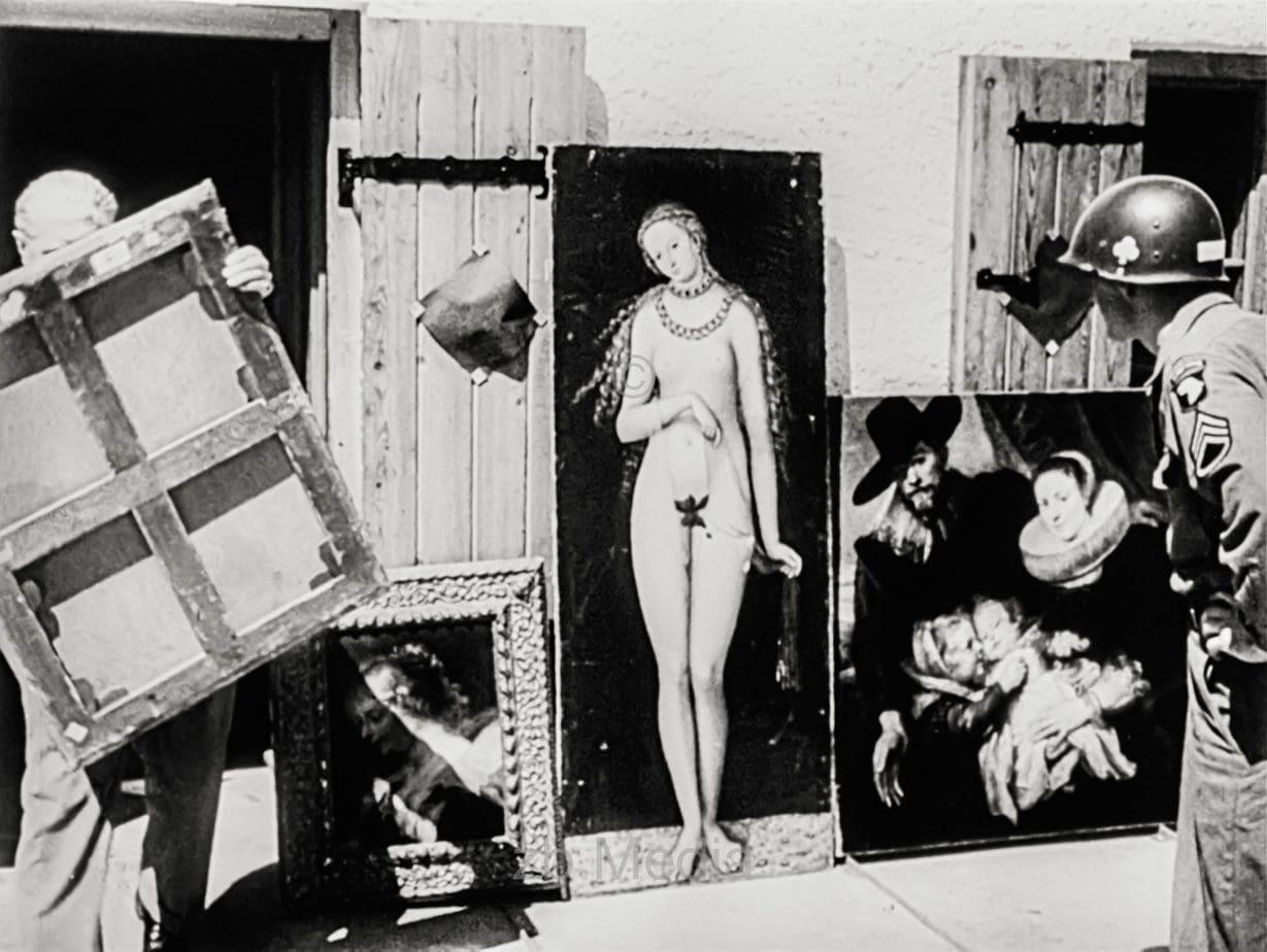 Raubkunst in Berchtesgaden 1945
