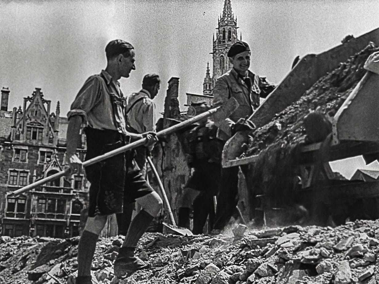 Marienplatz, München, Sommer1946