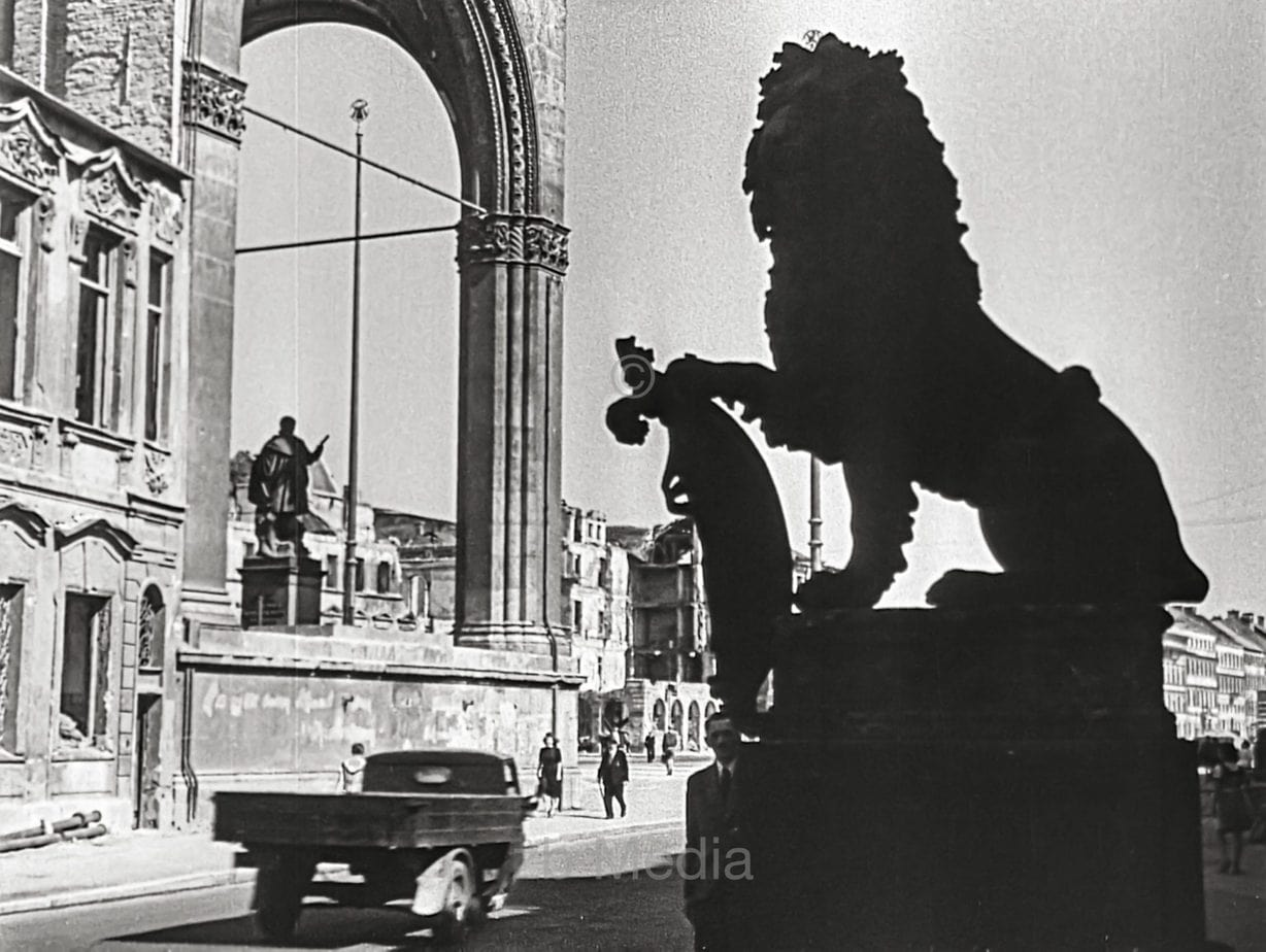 Odeonsplatz München Sommer 1946