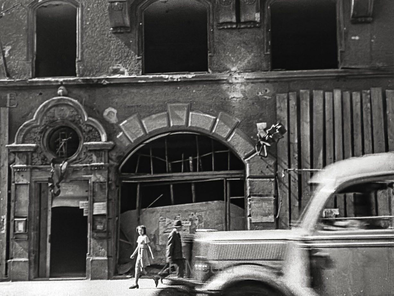 Stadtbild im Tal München Sommer 1946