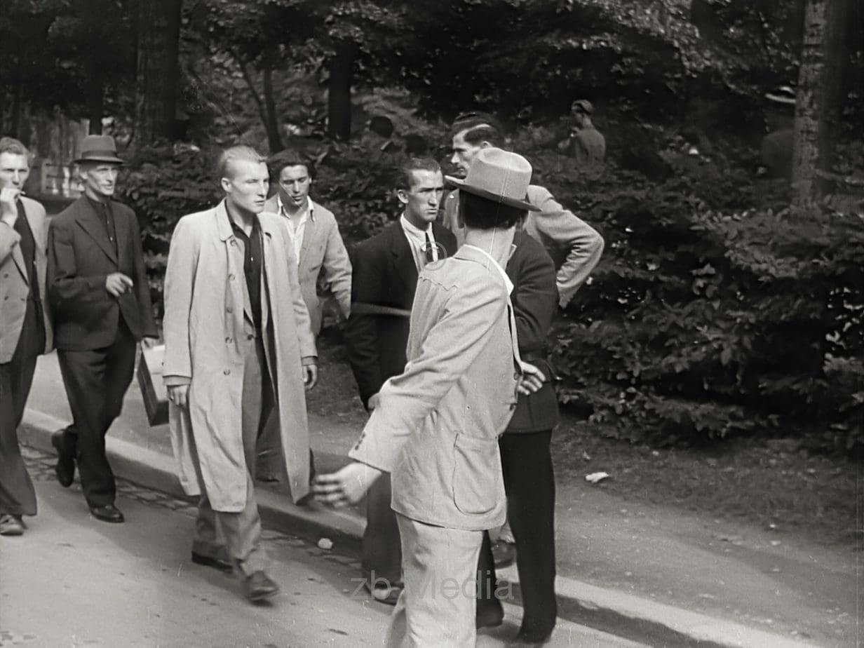 Schwarzmarkt-Razzia in München 1946