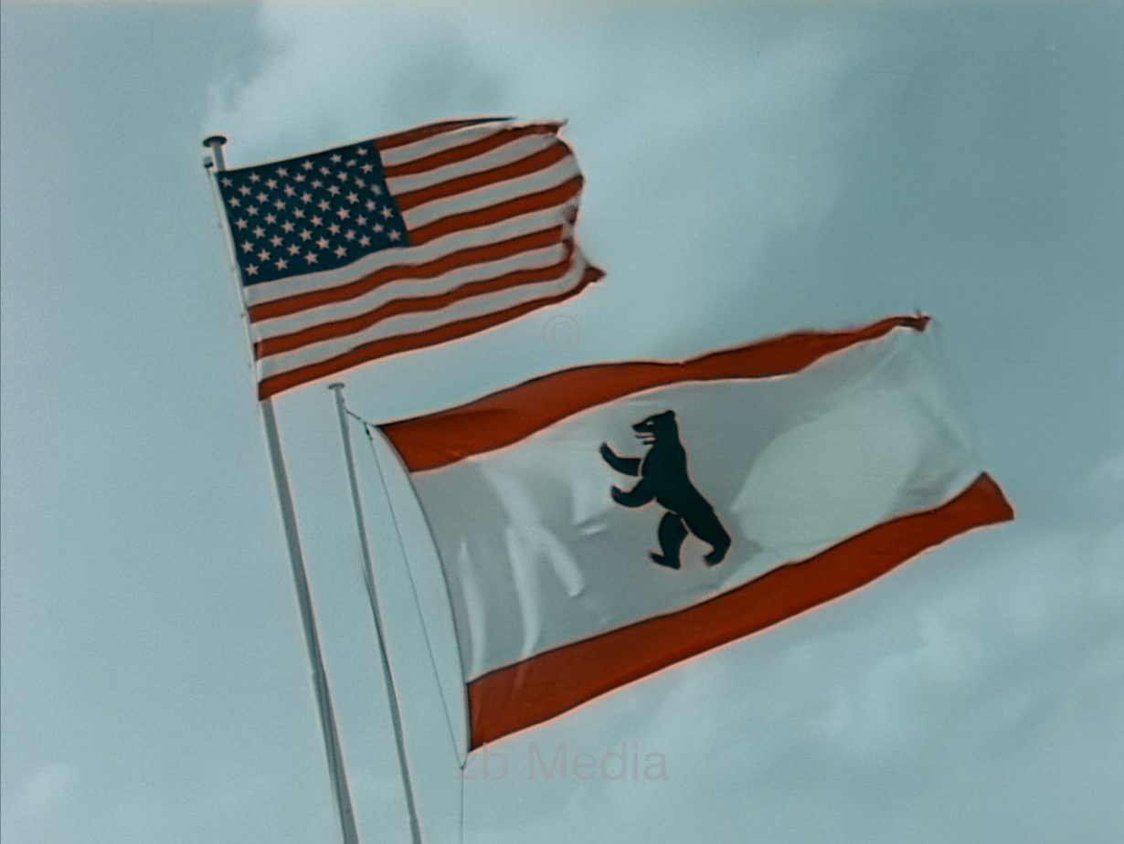 Flags - President John F. Kennedy Visit to Germany 1963