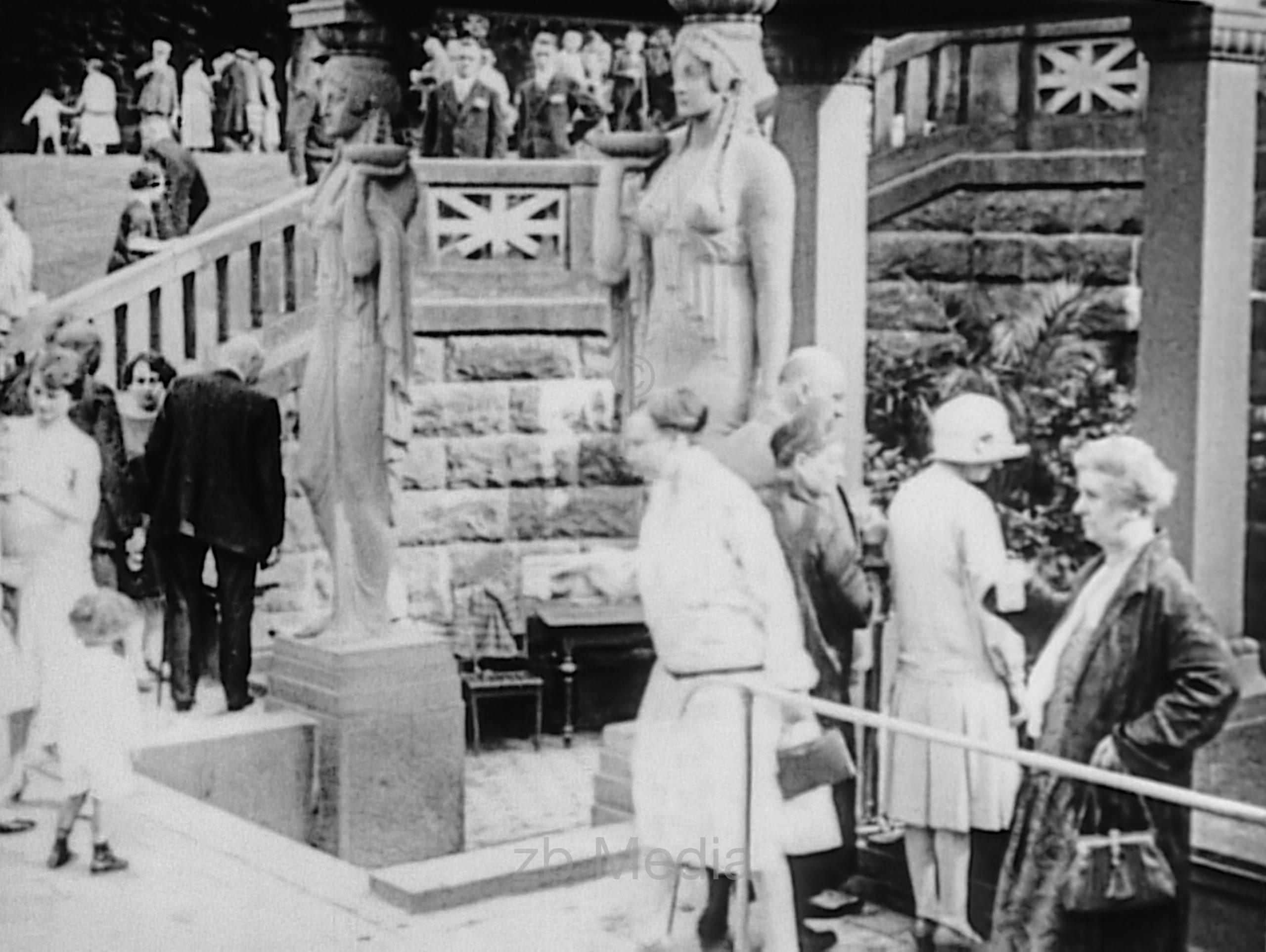 Kurpark Bad Homburg 1930
